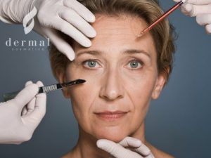 Aging Woman - Plastic Surgery